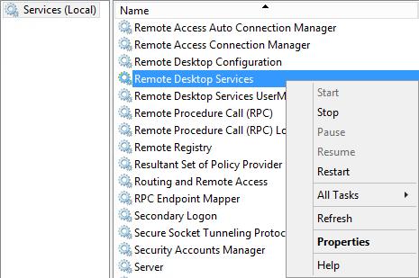 Windows - Reset Time bomb RDS on Windows Server 2012 R2 -